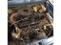 Classic Mini 998cc Automatic engine & gearbox