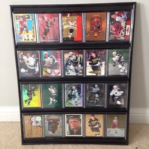 Sports collectable cards display