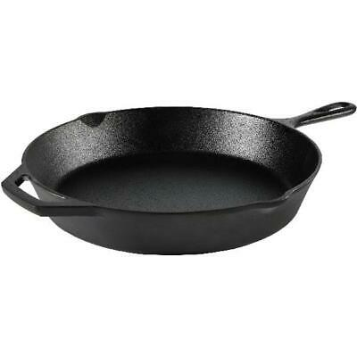 """Cast Iron Skillet 12""""  Pre-Seasoned Frying Cookware Cooking"""