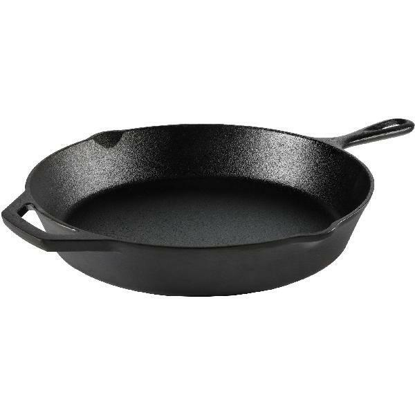 """Cast Iron Skillet 12""""  Pre-Seasoned Frying Cookware Cooking Fry Pan Pot Oven NEW"""