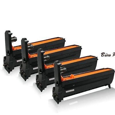 4x Große XL Trommeleinheiten für OKI C-5800-N C-5900 Trommel Büro Print - Größe C Drucker