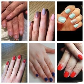 Shellac Gel Nails /Manicure /Pedicure