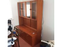 G plan side board and display unit