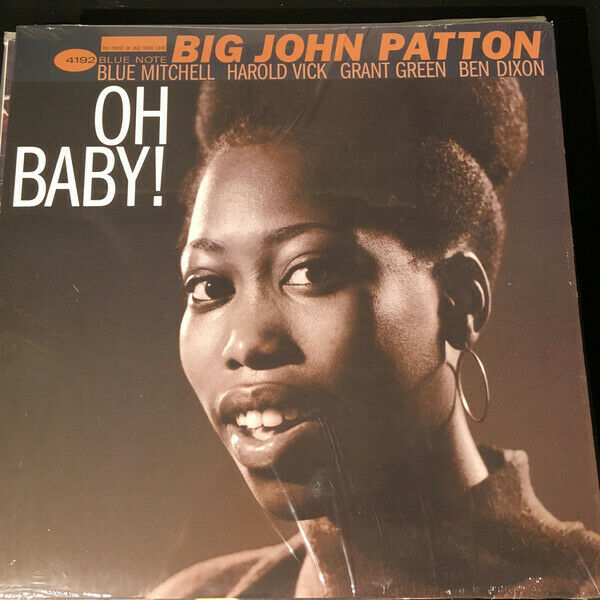 Big John Patton - Oh Baby / Blue Note Vinyl 4192 Sealed Reissue - $18.00