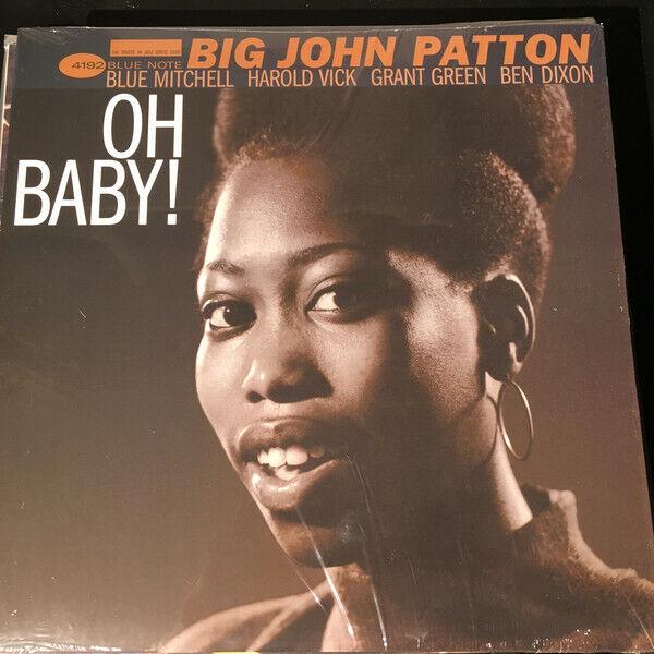 Big John Patton - Oh Baby / Blue Note Vinyl 4192 Sealed Reissue - $18.00