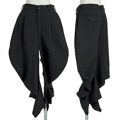 (SALE) COMME des GARCONS wool deformation pants Size S(K-22178)