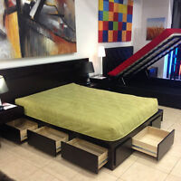 7 Drawer Storage Bed in King or Queen Size on Sale   Toronto