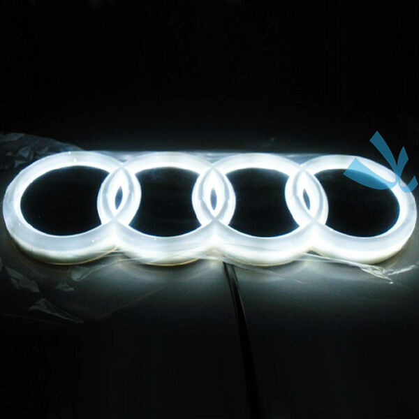 audi led emblem ebay. Black Bedroom Furniture Sets. Home Design Ideas