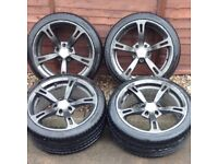 """18"""" AC Schnitzer Alloys fit BMW with Brand new tyres"""