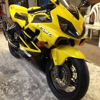 Honda cbr600 f4i for sale or trade for sled
