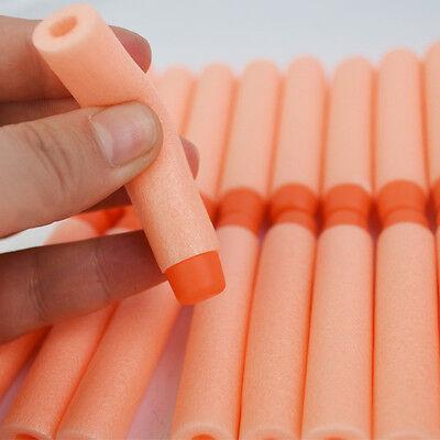 50 PCS ORANGE 7.2cm Refill Bullets darts for Nerf N-Strike Elite Gun *CHEAPEST*