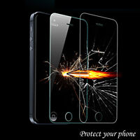 TEMPERED GLASS FILM GUARD SCREEN PROTECTOR FOR IPHONE 5, 6, 6+