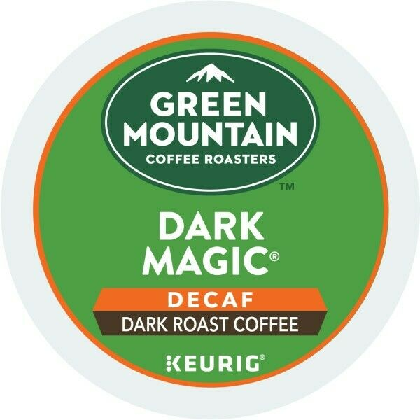 Green Mountain Coffee Dark Magic Decaf, Keurig K-Cup Pod, Dark Roast, 96 Count