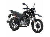 LEXMOTO 125CC ASSAULT LEARNER LEGAL ENDURO OFF ROAD STYLE MOTORBIKE MOTORCYCLE