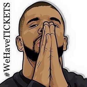 DRAKE CONCERT TICKETS - October 8th & 9th