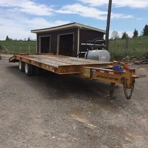 2005 American 20 ton float trailer