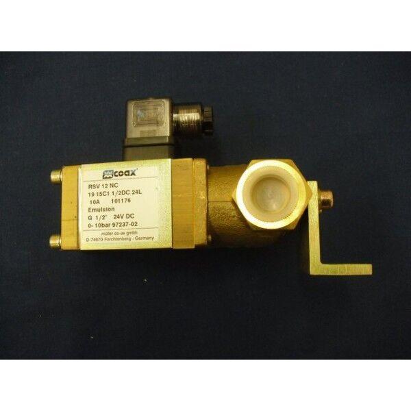 Coax RSV 12 NC lateral Emulsion VALVE SIDE Emulsion VALVE NEW SMT