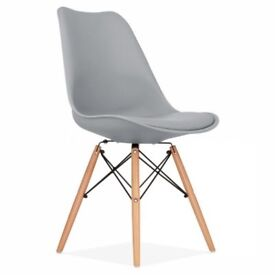 Eames replica dining chairs. Suitable for restaurant or home