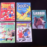 5 Book Lot - Little Big Little Book - Mickey Mouse, Donald Duck