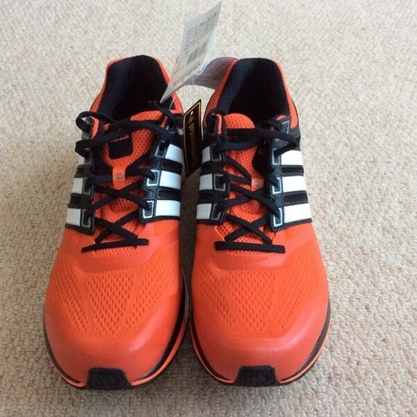 New Adidas supernova glide 6 running shoes sizes 11.5,12 &12.5in Leicester, LeicestershireGumtree - adidas Mens Supernova Glide Boost 6 Neutral Running Shoes Bold Orange/White/Solar RedRRP £100Adidas shoes normally come up smalladidas extremely lightweight and breathable running shoes. M17426Textile and synthetic upper.Textile lining.Boost midsole...