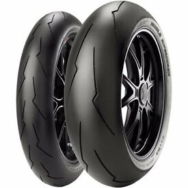 BRAND NEW Pirelli Diablo Supercorsa SP tyres