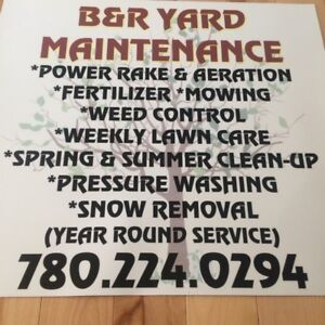 YARD CLEAN UP WEED CONTROL