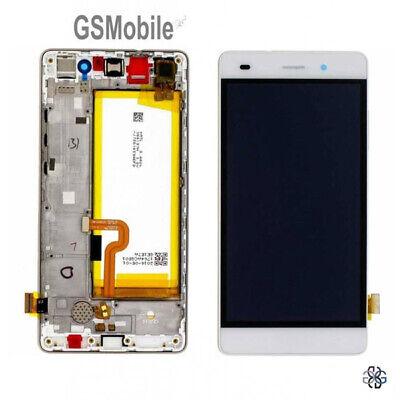 Pantalla Completa LCD Tactil Marco Frame Bateria Huawei P8 lite Ale-L21 ORIGINAL