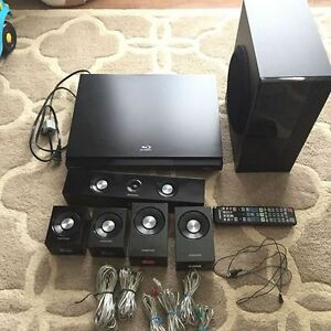 Samsung 5.1 CH Blu-ray Home Theatre System and WIFI dongle