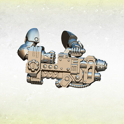 Legion Legionary Gravity Cannons (3) Bitz Kromlech Resin KRCB145