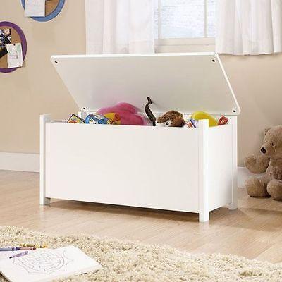 Kids Toy Box Storage Chest Bedroom Organizer Bench Bin Playroom Child Furniture