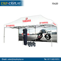 Canopy Tents with high Quality graphics for Outdoor Events