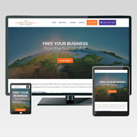 Mobile friendly responsive website with free SEO