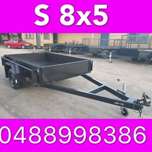 8x5 BOX TRAILER EXTRA HEAVY DUTY 1 PIECE FOLD LOCAL MADE 2 South Windsor Hawkesbury Area Preview