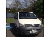 Volkswagen transporter 1.9 tdi camper van