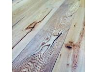 189mm Vintage Brushed and Oiled Engineered Oak Wood Flooring 18/4 Thick
