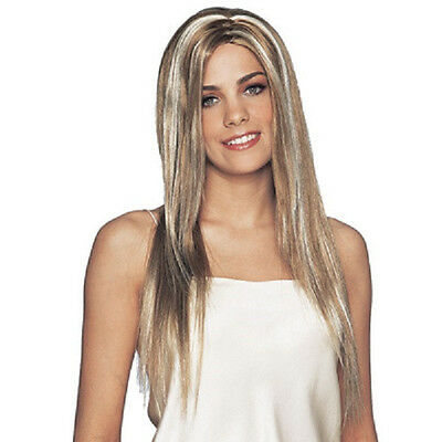Celebrity Wig Hollywood Star Model Blonde Dress Up Halloween Costume Accessory