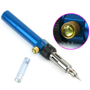 Soldering-Solder-Iron-Gun-Butane-Cordless-Woolelding-Pen-Burner-Gas-Blow-Torch