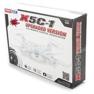 Syma X5C 2.4G 6 Axis Gyro HD Camera RC Quadcopter with 2.0MP Cam