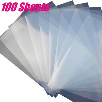 100sheets Waterproof Inkjet Milky Transparency Film For Screen 8.5 X 11