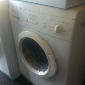 BOSCH WASHING MACHINE WHITE WITH A STORE WARRANTY