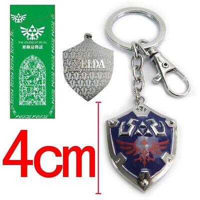 Legend Of Zelda Link Hylian Shield Keychain Link's Awakening Breath of the - Link Shield