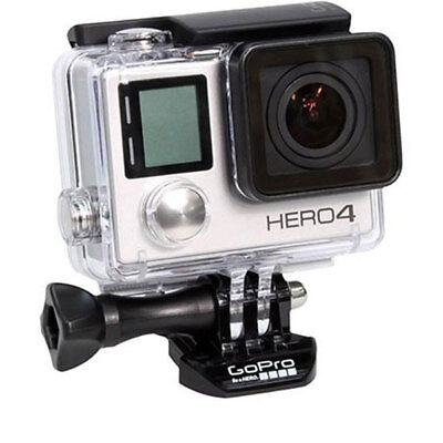 Gopro Hero4 Silver Action Camera Camcorder   Waterproof Housing   Lcd Screen