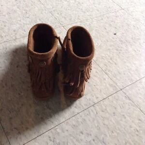 Brand new brown moccasins, size 5.5 Cambridge Kitchener Area image 3