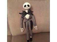 Jack Skellington plush figure