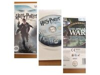 Wii Game Harry Potter & The Deathly Hallows
