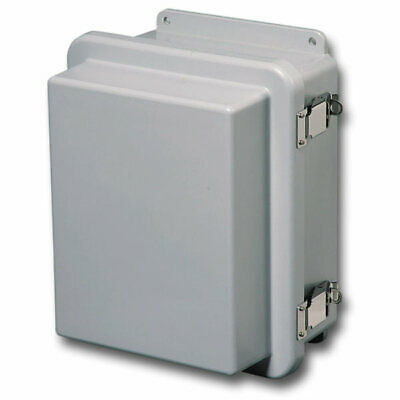 Stahlin Electrical Fiberglass Enclosurebox Rj604hpl 6x4x5 With Back Panel