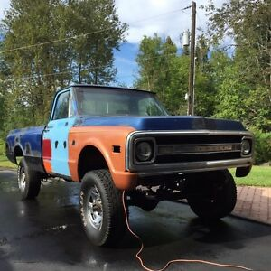 1970 chevrolet c20 4x4 project