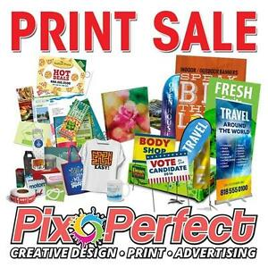 MONTHY PRINT SALE | Affordable High Quality Printing | Business Cards, Flyers, Banners, Signs and More | PixoPerfect.com