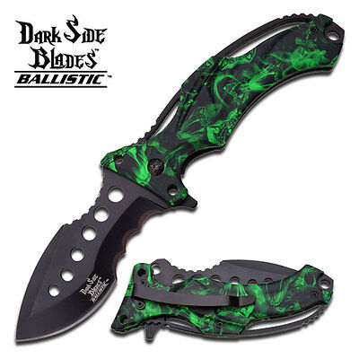 Dark Side Blades Ds A020gnc Spring Assisted Knife