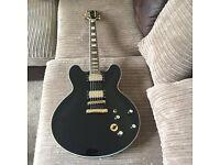 Replica Gibson bb king 335 in black